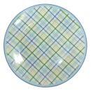 Тарелка десертная 19см Клетка фарфор (инд.12323)